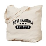 New Grandma Est. 2013 Tote Bag