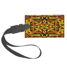 Colorful Mazes Luggage Tag