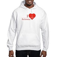 I love Arizona Hoodie Sweatshirt