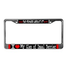 NB_Glen of Imaal Terrier License Plate Frame