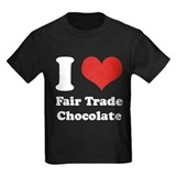 I Heart Fair Trade Chocolate T