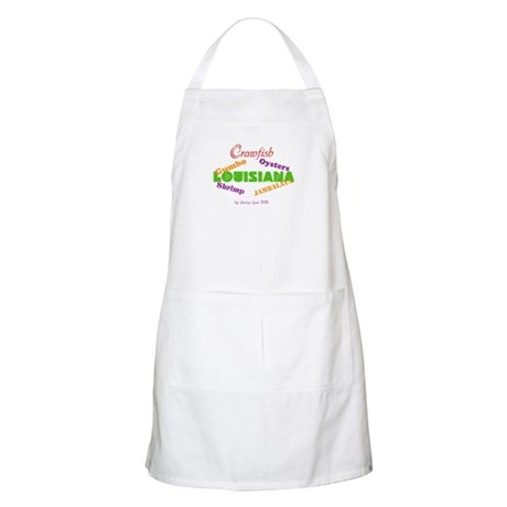 Louisiana Seafood Apron