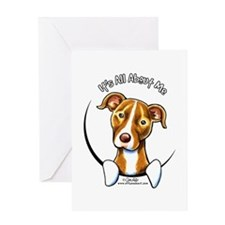 Pit Bull IAAM Greeting Card