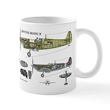 Spitfire Cutaway EN398 Mug