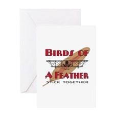 Flying Birds Greeting Card
