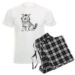 Crazy Dog Men's Light Pajamas