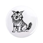 "Crazy Dog 3.5"" Button (100 pack)"