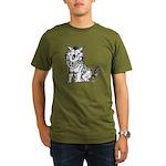 Crazy Dog Organic Men's T-Shirt (dark)