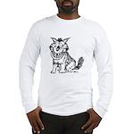 Crazy Dog Long Sleeve T-Shirt