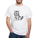 Crazy Dog White T-Shirt