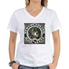 1887 Newfoundland Dog Postage Stamp Shirt