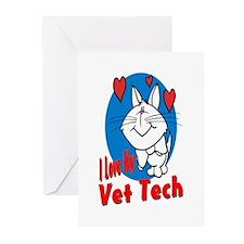 Vet Tech Greeting Cards (Pk of 10)