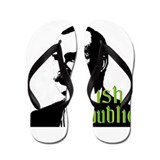 Irish Republic - James Connoly Flip Flops