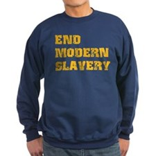 End Modern Slavery Sweatshirt