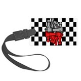 Chess Master Luggage Tag