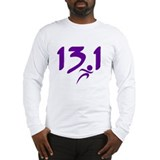 Purple 13.1 half-marathon Long Sleeve T-Shirt