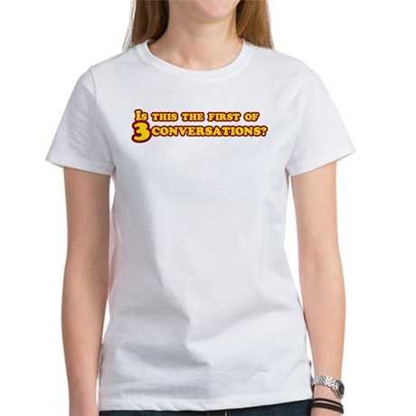 Three Conversations Women's T-Shirt