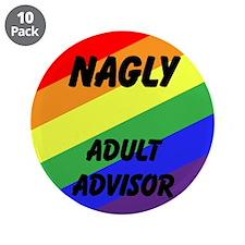 """Cute Advisor 3.5"""" Button (10 pack)"""