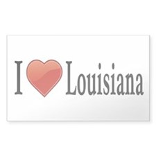 I Love Louisiana Decal