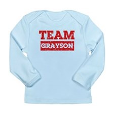 Team Grayson Long Sleeve Infant T-Shirt