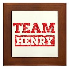 Team Henry Framed Tile