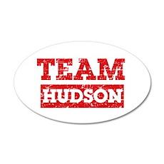 Team Hudson 20x12 Oval Wall Decal