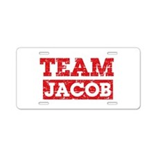 Team Jacob Aluminum License Plate