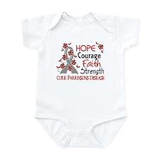 Hope Courage 3 Parkinson's Infant Bodysuit