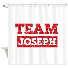Team Joseph Shower Curtain