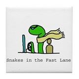 Fast Lane Tile Coaster