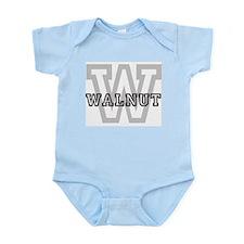 Walnut (Big Letter) Infant Creeper