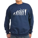 evolution trumpet player Jumper Sweater