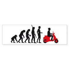 evolution scooter Bumper Sticker
