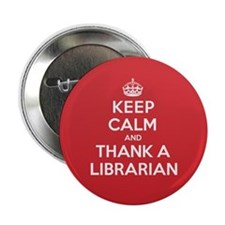 "K C Thank Librarian 2.25"" Button"