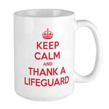 K C Thank Lifeguard Mug