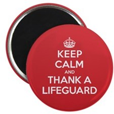 "K C Thank Lifeguard 2.25"" Magnet (10 pack)"