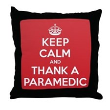 K C Thank Paramedic Throw Pillow