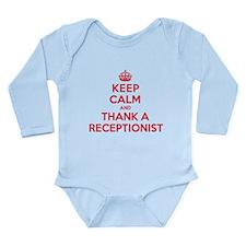 K C Thank Receptionist Onesie Romper Suit