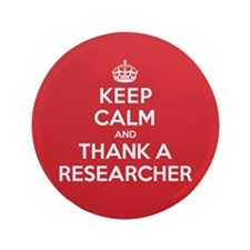 "K C Thank Researcher 3.5"" Button"