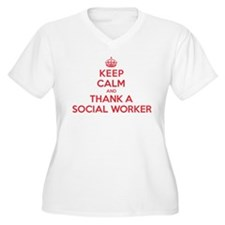 K C Thank Social Worker T-Shirt