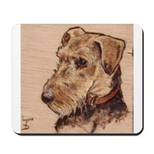 The Airedale Shop Loucee Mousepad