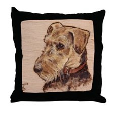 The Airedale Shop Loucee Throw Pillow