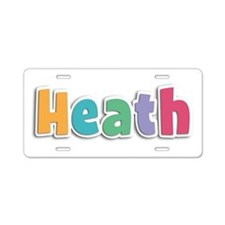 Heath Spring11 Aluminum License Plate