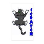 SCRATCH Rectangle Sticker