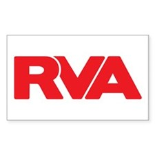 Red RVA Sticker (10 pack)