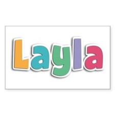 Layla Spring11 Rectangle Decal