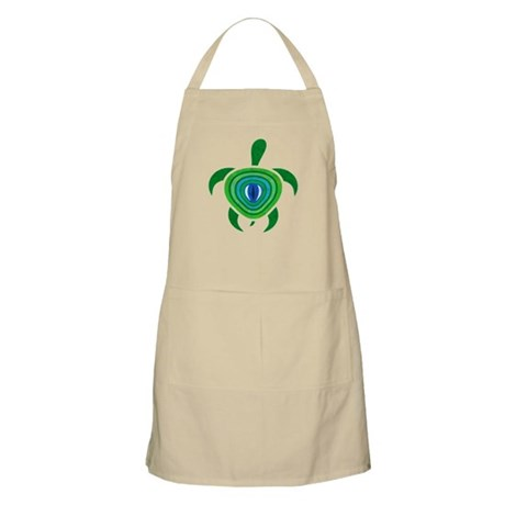 Green Eye Turtle Apron