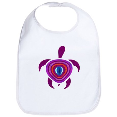 Purple Eye Turtle Bib