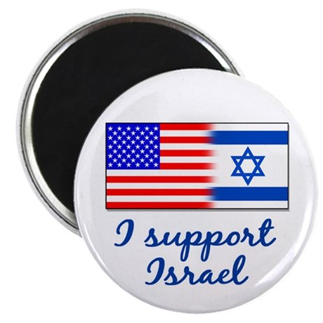"I Support Israel 2.25"" Magnet (100 pack)"