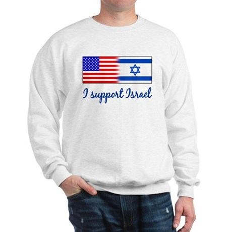 I Support Israel Sweatshirt